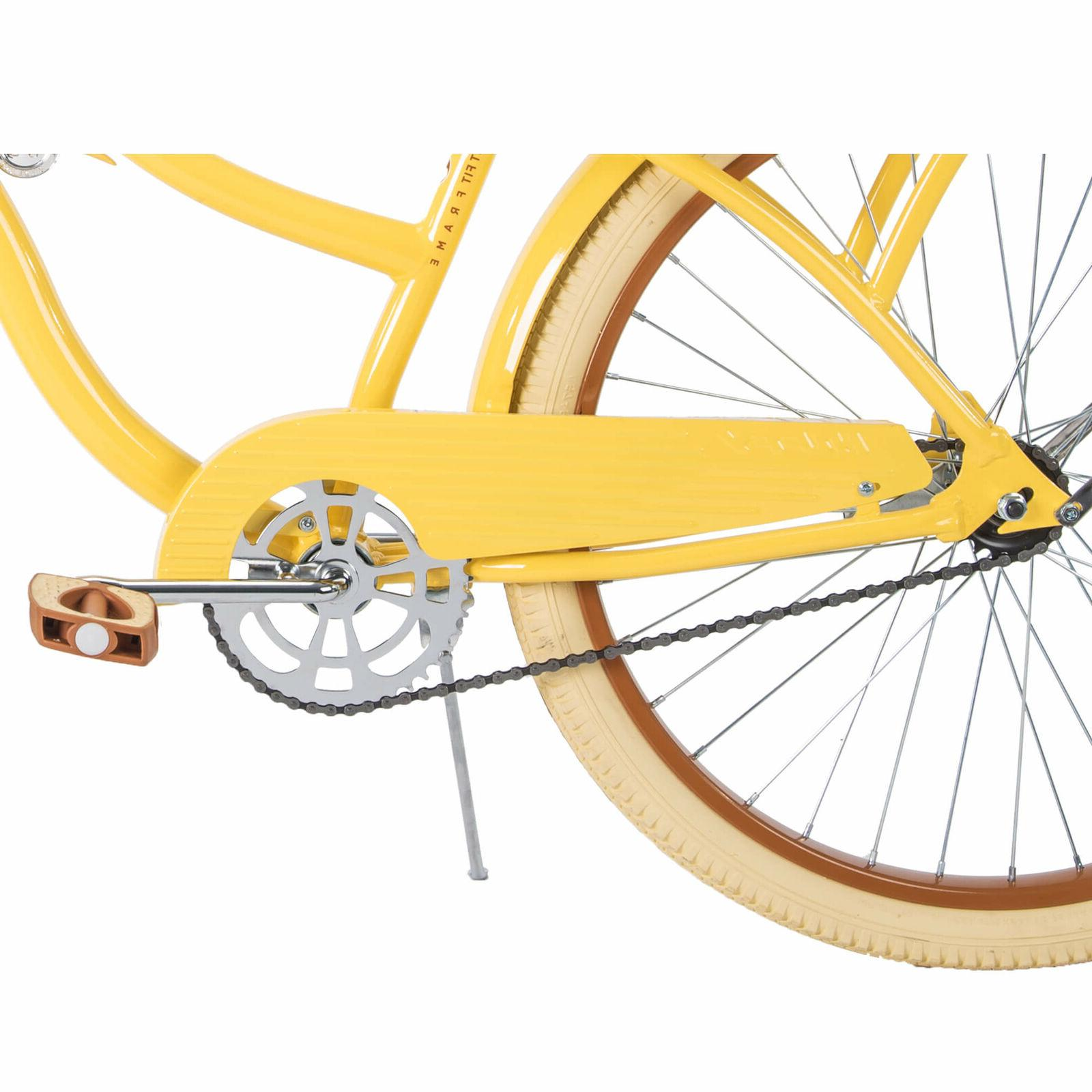 Huffy,Women's Cruiser Bike Lusso with Fit