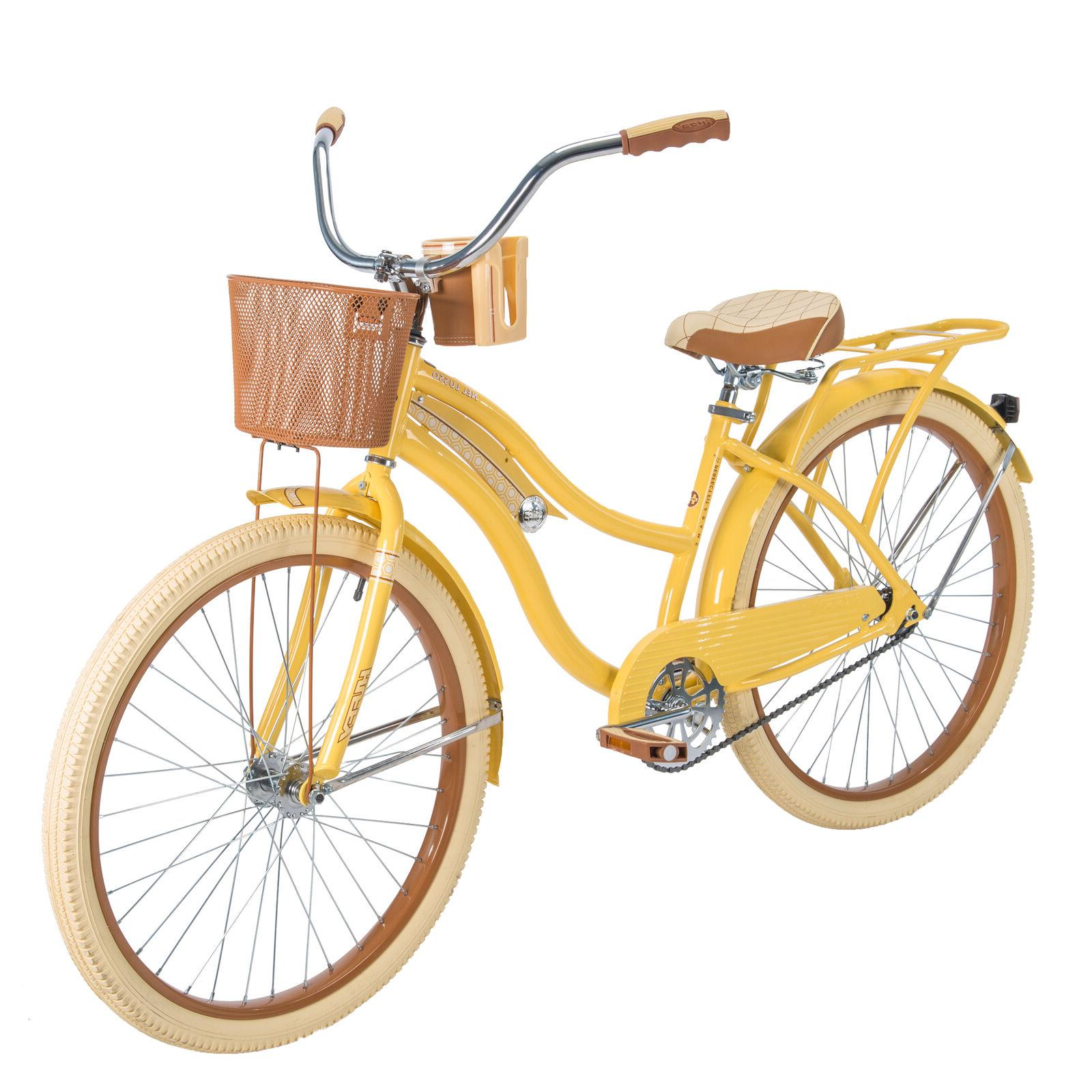 Huffy,Women's Bike Lusso with Fit Frame, Yellow