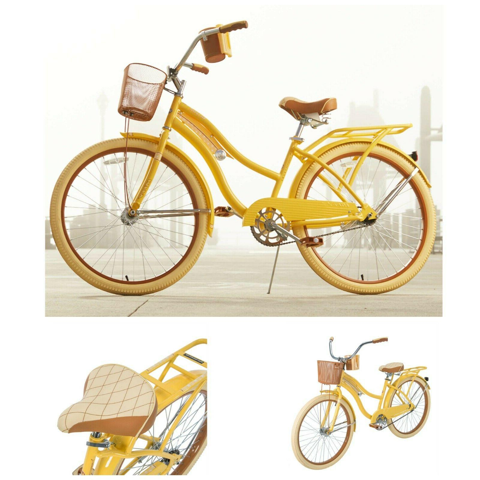 womens bike 26 vintage beach bicycle basket