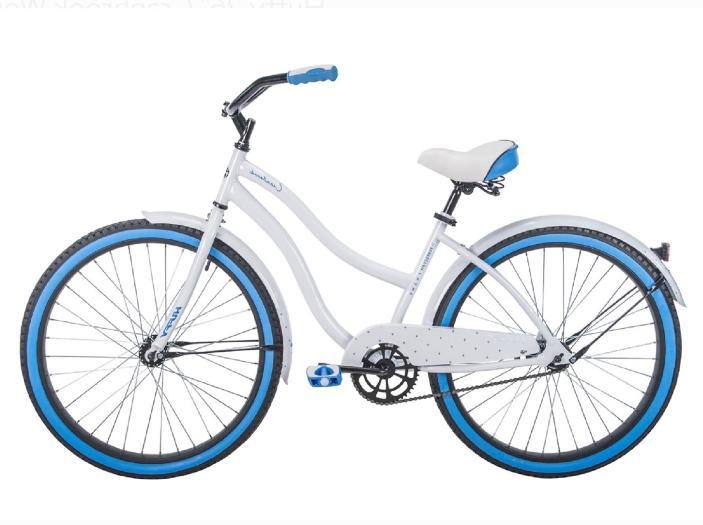 Womens Bike 26 Girls White Comfort