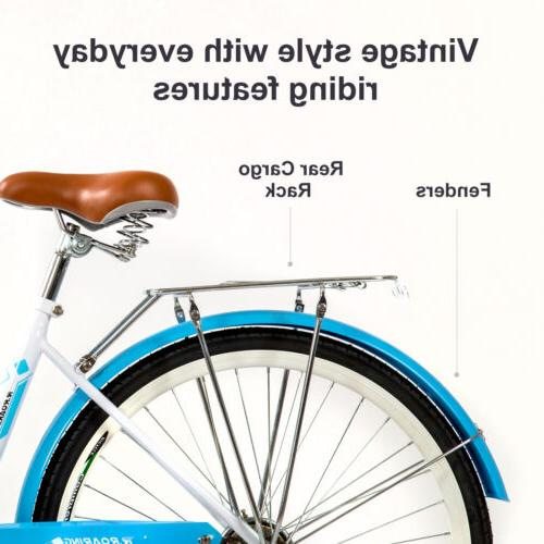 Womens Commuter Single Speed 24-Inch Bike Racks,Blue,USA
