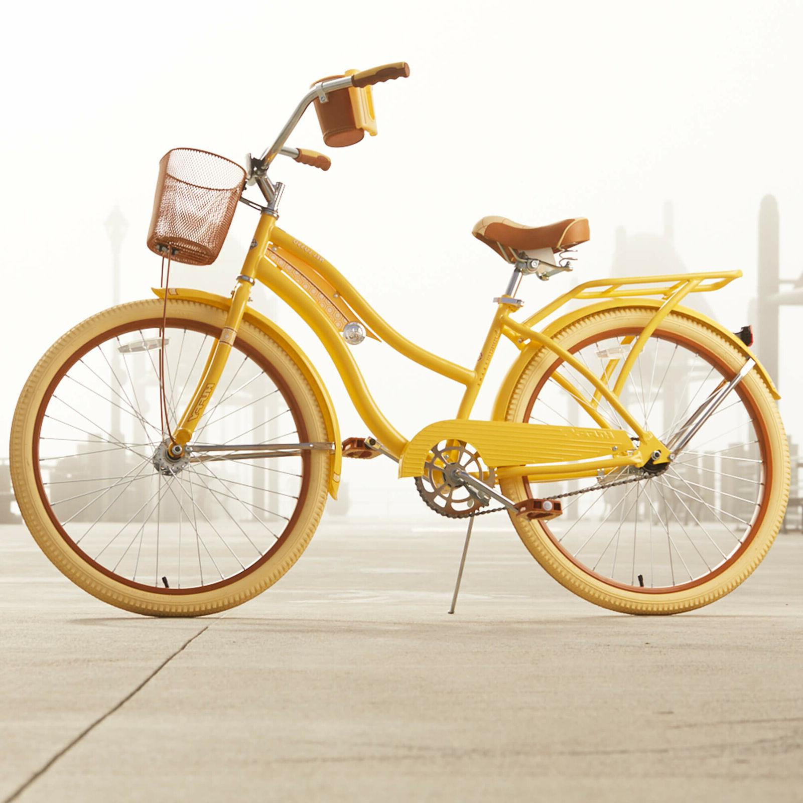 Huffy,Women's Nel Lusso Fit Frame, Yellow