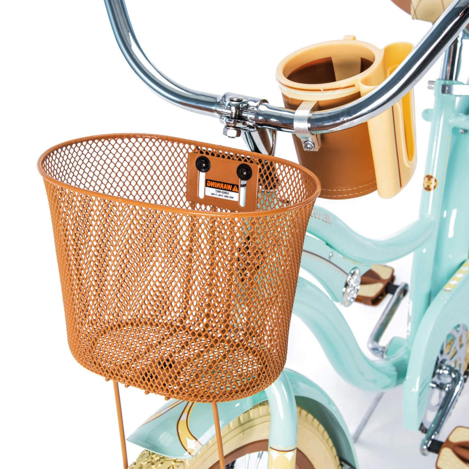 Huffy Womens Lusso Cruiser Basket, Mint