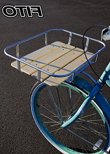 Fito Wood-Bottom Flat Aluminum Alloy Mounting Made in Beach Cruiser Bikes