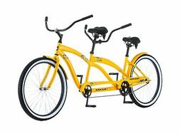 "Kulana Lua Single Speed Tandem 26"" wheel, Yellow, 17""/Medi"