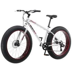 "Mongoose Men's Malus 26"" 7-Speed Fat-Tire Bicycle"