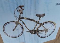 Kent Margaritaville aluminum bike 7 Speed Beach Cruiser Bott