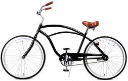 Fito Marina Alloy 1-speed Glossy black, Aluminum Light Weigh