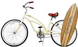 "Fito Marina Alloy Single 1-speed Women - Vanilla, 26"" Beach"