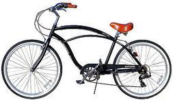 Fito Marina Aluminum 7-speed - Matte black, Light Weight Man