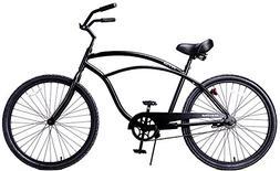 Fito Men's Marina Aluminum Alloy 1-Speed Beach Cruiser Bike,