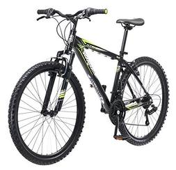 "Mongoose Men's Mech Mountain Bicycle, 18""/Medium, Black"