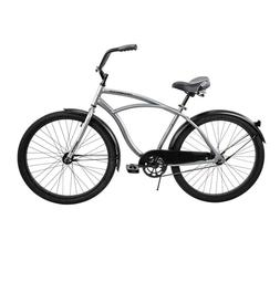 Huffy Men's 56409P7 26 inch Cruiser Bicycle - Silver SHIPS