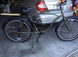 Mens Bicycle for sale.  Beautiful Electra cruiser used 3 tim