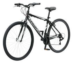 Schwinn Mens Bike 18 Speed 700C Wheels Hybrid Road Bicycle C