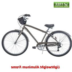 Mens Bike 7 Speed Parkside Lightweight Aluminum Frame Durabl