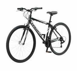 Schwinn Men's Black Hybrid Multi-use Bike 700C Pathway 18