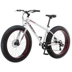 Mens Fat Tire Mountain Bicycle 26 in 7-Speed Fat-Tire Beach