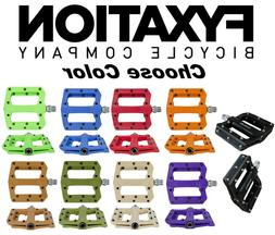 FYXATION Mesa MP MTB Bike Platform Sealed Pedals Face w/Pins