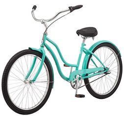 "Schwinn Mikko Women's Cruiser Bike, 3-Speed, 26"" Wheels, Tea"