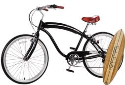 "Fito Modena II Alloy 7-speed - Black/Brown, Men's 26"" Beach"