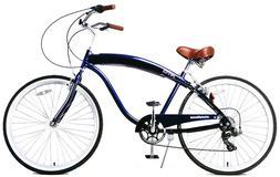 "Fito Modena II Alloy 7-speed - Midnight Blue, Men's 26"" Beac"