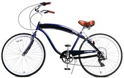 "Fito Modena II Alloy 7-speed - Midnight Blue, Men's 26"" Beac"