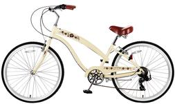 "Fito Modena II Alloy 7-speed - Vanilla, Women's 26"" Beach Cr"