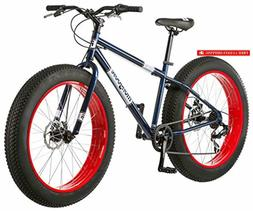 Mongoose Dolomite Fat Tire Mountain Bike, Featuring 17-Inch/