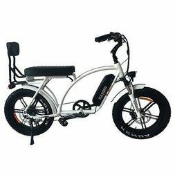 "Addmotor MOTAN Electric Bicycle M-60 L7 750W 20""Fat Tire Bik"