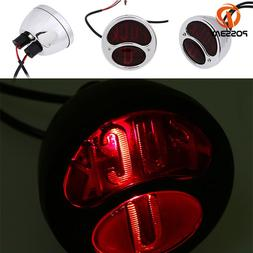 POSSBAY Motorcycle Tail Light <font><b>Bike</b></font> Rear