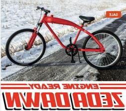 Motorized Bicycle Frame FOR 2-Stroke Engines Ready With Buil