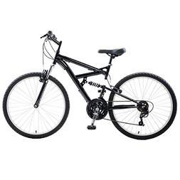 Men Mountain Bike Bicycle Frame Dual Suspension Outdoor Spor