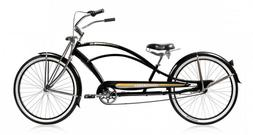 "Micargi MUSTANG-GTS 26"" Stretch Beach Cruiser Bike 68 spoke"