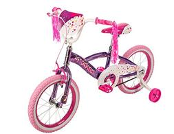 "16"" Huffy N'Style Girls' Bike, Pink/Purple"