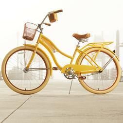 Huffy 26 in Women's Cruiser Bike Nel Lusso with Steel Perfec