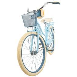 Huffy Nel Lusso 26 inch Cruiser Women Bike - Light Blue BRAN