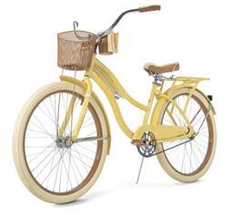 "26"" Huffy Women's Nel Lusso Cruiser Bike Banana Easy to Use"