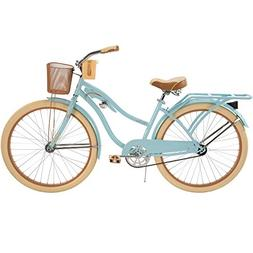 "Huffy 26"" Nel Lusso Women's Cruiser Bike, Blue"