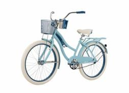 "Huffy Nel Lusso Women's Cruiser Bike - 24"", Mint"