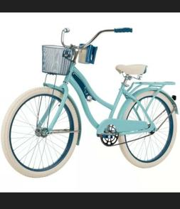 Huffy Nel Lusso Women's Cruiser Bike Blue 24 Inch 54578