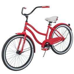 "NEW Huffy 24"" Cranbrook Girl's Cruiser Bike with Perfect Fit"