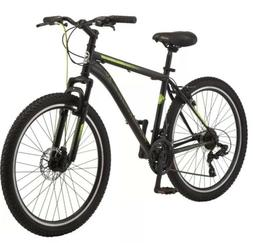 "🔥New Schwinn 26"" Sidewinder Mens Mountain Bike Black Gree"