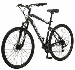 New Schwinn 700c Glenwood Men's Hybrid Bike, Black,BRAND N