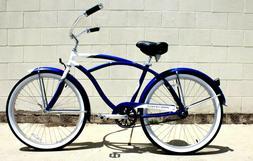 New Beach Cruiser Aluminum Bicycle Coaster🌴 Lightweight L