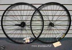 "new Beach Cruiser bike 26"" alloy Wheels Wheelset Black Rims"