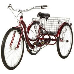 New In Box Schwinn S4002 Meridian Adult Tricycle - Black Che