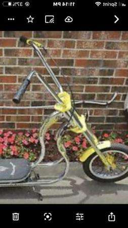 NEW IN BOX Schwinn StingRay Push Scooter - Yellow collectibl