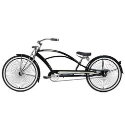 "New Micargi MUSTANG-GTS 26"" Stretch Beach Cruiser 68 spokes"
