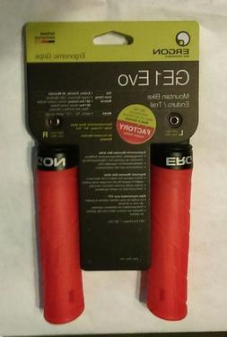 PAIR NEW Orange  ERGON GE1 EVO Factory ERGO lock Bike GRIPS